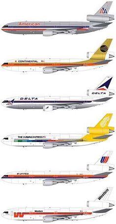 DC-10s