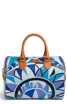 Emilio Pucci 'Large' Boston Bag