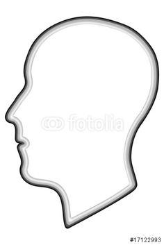 """Laden Sie den lizenzfreien Vektor """"Kopf"""" zum günstigen Preis. Stöbern Sie in unserer Bilddatenbank (de.fotolia.com/...) und finden Sie schnell das perfekte Stockbild !"""