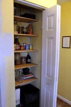 Floor to Ceiling Pantry Shelves