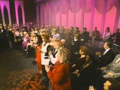 """""""I Just Feel Like Something Good Is About To Happen"""" with the Gaithers. Oh, what a delight. This video is pretty dated, but look at the audience and those singing. Don't they look joyful? We need more songs like this that remind us of God's plans for us here on earth. Sometimes when we are ill we start feeling bitter, that earth is all about endurance. But God wants us to have moments of joy and expectations of life here too! -Lisa"""