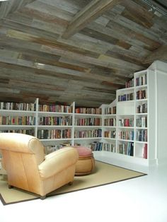 Comfy Simple Reading Nook Decor Ideas - Page 21 of 59 Bedroom Nook, Bedroom Ideas, Reading Room, Book Nooks, Storage Spaces, Bookcase, Comfy, Shelves, Cabinet