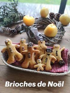 Inspirée de Mannele de la St Nicolas, ces petites brioches mettront des étoiles dans les yeux des enfants le matin de Noël 🤩 Saint Nicolas, Gingerbread Cookies, Biscuits, Desserts, Food, Christmas, Christmas Morning, Vintage Christmas, Gingerbread Cupcakes
