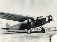 PH-AIS Fokker op Hato