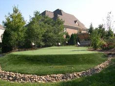 All of our putting green products require little to absolutely no maintenance.