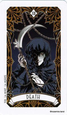 Альбом Magic Manga tarot — Таро Магия Манга | Энциклопедия карт Таро и оракулов Rozamira