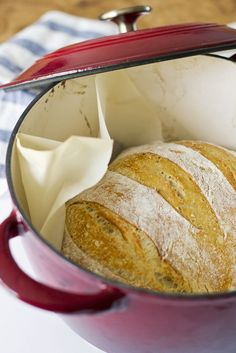 A perfect sourdough loaf for company. Or for a rainy day with a cup of soup. Okay fine, it's delicious whenever and however you eat it! Sourdough Recipes, Sourdough Bread, Bread Recipes, Baking Recipes, Starter Recipes, Oven Recipes, Yeast Starter, Dutch Oven Bread, Bread Oven