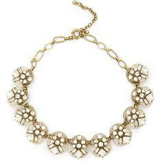 Sole Society Lucite And Crystal Statement Necklace ($24) ❤ liked on Polyvore featuring jewelry, necklaces, crystal, adjustable necklace, clear lucite necklace, crystal necklace, floral statement necklace and bib statement necklace