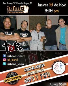 TDK Band con los mejores covers del rock de los 60's y 70's en Taima Restaurant http://crestametalica.com/events/tdk-band-con-los-mejores-covers-del-rock-de-los-60s-y-70s-en-taima-restaurant/ vía @crestametalica