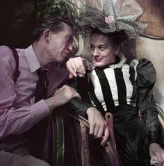 Robert Capa - 'John Huston at the café Les Deux Magots during the filming of 'Moulin Rouge'' Paris, 1952 Moulin Rouge Paris, Le Moulin, Martin Scorsese, Stanley Kubrick, Alfred Hitchcock, Jane Bown, Paul Outerbridge, Les Deux Magots, Dr Marcus