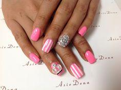 #nailart#bling#diamond##gelnails