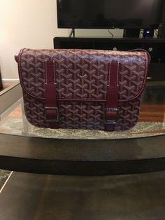 dc92309b8e GOYARD GM Shoulder Messenger Bag Body Auth Used  fashion  clothing  shoes   accessories  mensaccessories  bags (ebay link)