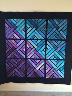 Fractured Paintbox ~Quiltworx.com, made by CI Kathi Carter