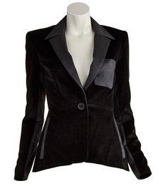 Atto-Cotton Corduroy Tuxedo Jacket ashlee@justoneeye.com