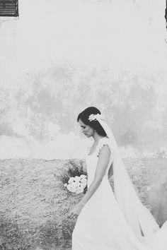 robe de mariée voile