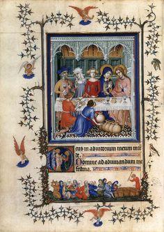 MINIATURIST, French Très Belles Heures de Notre-Dame du Duc de Berry c. 1380 Manuscript (Ms. nouv. acq. lat. 3093), 280 c 200 mm Bibliothèque Nationale, Paris