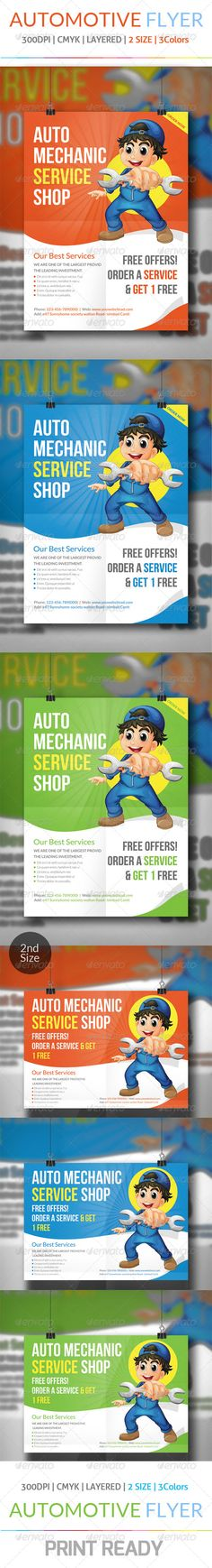 Multipurpose Promo Flyer V5 Flyer template, Print templates and - car ad template