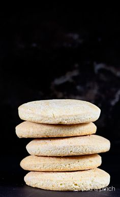 Southern Tea Cakes are old-fashioned, simple sugar cookies. These classic cookies are a family favorite! // addapinch.com