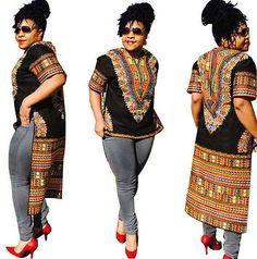 Women African Print Dashiki Dress Shirt Boho Hippie Gypsy Party Kaftan Party New