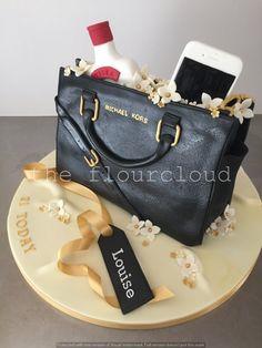 Fabulous Michael Kors handbag birthday cake.