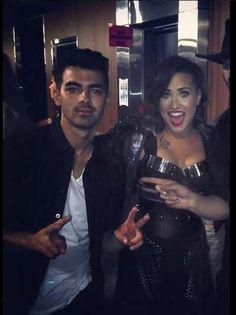 Demi Lovato performing at the Staples Center in Los Angeles, CA - September Nick Jonas Smile, Joe Jonas, Demi And Joe, Demi Lovato Albums, Camp Rock, Eyebrows On Fleek, Christina Perri, Becky G, Jonas Brothers