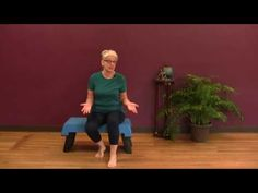 7 Balance Exercises You Need to Know Balance Exercises, Chair Exercises, Knee Exercises, Fun Workouts, At Home Workouts, Feldenkrais Method, Tai Chi Exercise, Get On The Floor, Senior Fitness