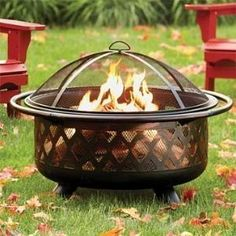 Portable Fire Pit -- Orvisble by jeannie