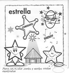 Fichas figuras geometricas – FICHAS PARA PINTAR | DIBUJOS PARA PINTAR Letter Activities, Activity Games, Activities For Kids, Math Bingo, Preschool Spanish, Basic Drawing, School Worksheets, Childhood Education, Child Development