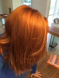 Red hair - ruivo laranjinha