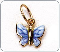 Ciondolo Gabriella Rivalta farfalla
