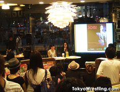 "Talk event of Book ""Tokyo BOIS!"" in Japan's largest book store TSUTAYA TOKYO ROPPONGI. Editor Yuki Keiser & Photographer Tosaki Miwa"