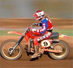 Honda Dirt Bike, Honda Motorcycles, Motorcycle Bike, Dirt Bikes, Marty Smith, Motocross Riders, Japanese Motorcycle, Vintage Motocross, Motorbikes