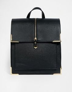 New Look | New Look Box Backpack at ASOS