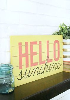 20 Creative And Fun Spring Signs For Décor | DigsDigs