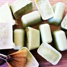 Cooling face mask - cucumber, aloe Vera & coconut oil