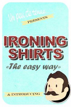 Un peu de tenue - Illustration - Ironing Guide 01