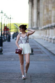the brunette blog mode paris tularosa romper