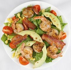 Shrimp Cobb Salad from cooking light