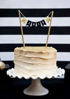 Black and Gold Graduation Party Graduation/End of School Party Ideas | Photo 6 of 13 | Catch My Party