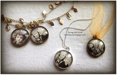 DIY Photo Pendant for Mothers Day