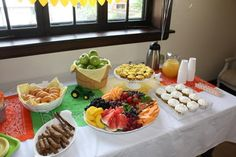 breakfast birthday party