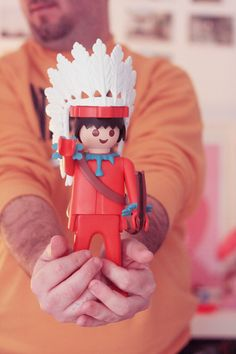 Giant Indian Playmobil