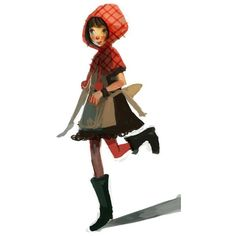 Little red riding hood found on Polyvore
