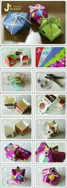 #tetrapack #gift  #recycle #reUse