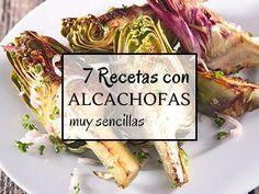 Recetas con alcachofas. Qué bien! ya mismo estamos comiendo alcachofas y como la temporada dura menos de lo que me gustaría hay que aprovecharla. Aunque no tengo subidas todas las recetas con alcachofas que hacemos en casa, si están algunas de mis favoritas. Veréis que todas ellas son muy sen... Food Decoration, Cabbage, Food Photography, Good Food, Food And Drink, Beef, Chicken, Vegetables, Cooking