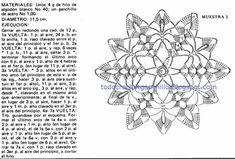 6 Crochet Patterns artísticas passo   Todos crochet