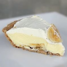 Best and Easy Banana Cream Pie. Use french vanilla pudding and add a bit of Cinnamon to whip cream topping. can use regular pie crust too.