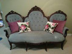 victorian couchsetee - Setee