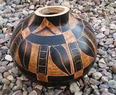 Hawaiian gourd art