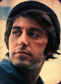 young Al Pacino. I have a thing for Italians